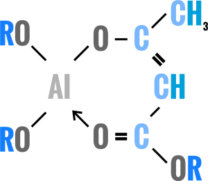 Aluminum Chelates chemical formula