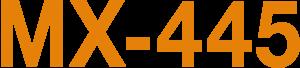 MX-445 logo